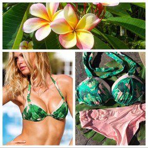 Victoria's Secret Palm bikini 34DD/Medium